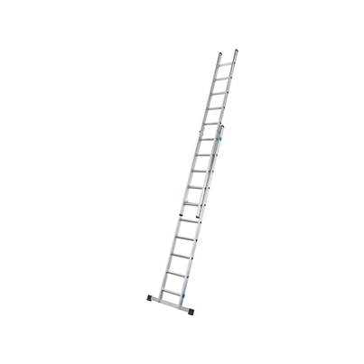 Zarges Double Extension Ladder with Stabiliser Bar