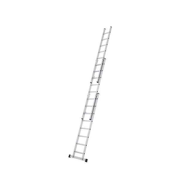 Zarges Everest 3DE Extension Ladder 3-Part D-Rungs 3 x 8
