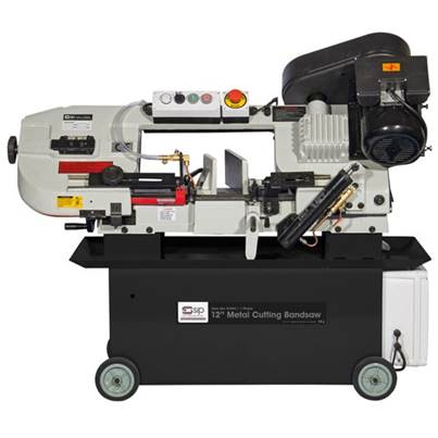 "SIP 01595 12"" 3 Phase Metal-Cutting Bandsaw"