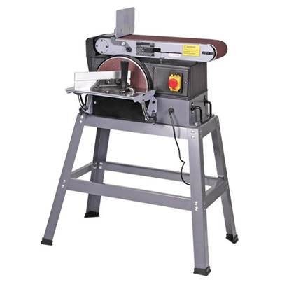 "SIP 01943 6"" x 10"" Belt Disc Sander"