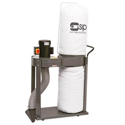 SIP 01952 1HP 1-Bag/Vacuum Dust Collector