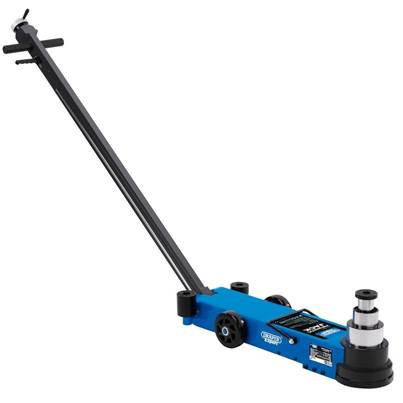 Draper 02080 PJ40LC Pneumatic Long Chassis Low Profile Jack 40 Tonne