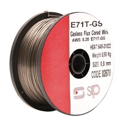 SIP 02678 0.9kg x 0.8mm Flux-Cored Wire