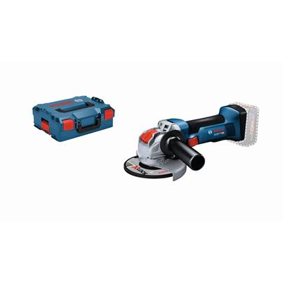 Bosch GWX18V-8 18V 125mm X-Lock Angle Grinder Bare Unit in Lboxx