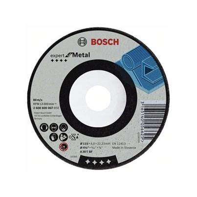 Bosch Expert for Metal grinding disc with depressed centre 230mm