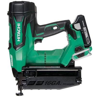 Hitachi Cordless 16G Straight Finish Nailer 18 Volt Body Only