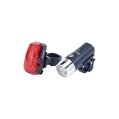 24815 Front & Rear LED Bicycle light Set