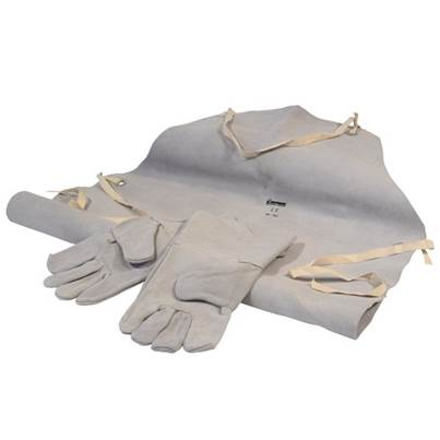 SIP 25112 Leather Welding Gloves & Apron