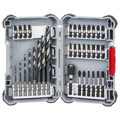 Bosch 35 Piece Impact Control HSS Drill Bit and Screwdriver Bit Set