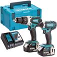 Image for Makita DLX2145TJ 18V  Li-ion Hammer Drill And Impact Driver 2 x 5.0Ah