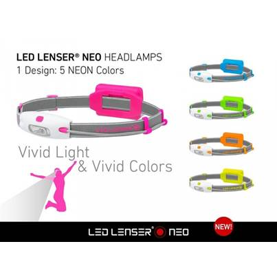LED Lenser Neo Pink Head Lamp
