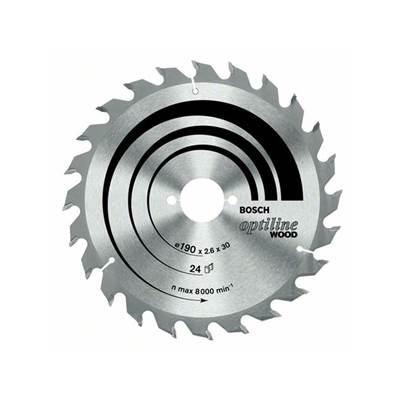 Bosch Optiline Wood circular saw blade 230mm x 30 x 2,8 mm, 24T