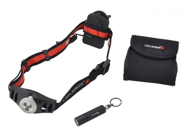 Ledlenser LL1025 Twin Pack With H3 Head Torch & K2 Key Light