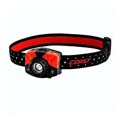 Coast FL85 Adjustable Focusing Head Torch