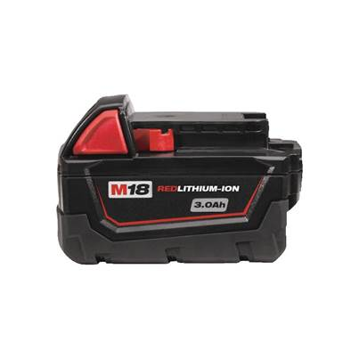 Milwaukee M18B3X 18v 3.0AH Lithium Ion Battery