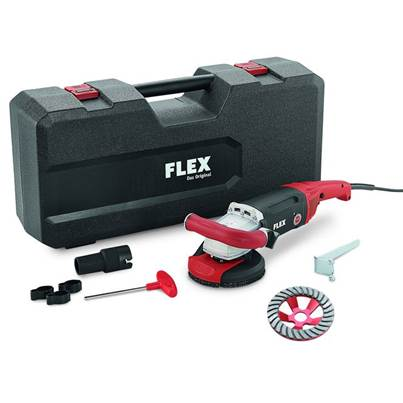 FLEX Flex LD18-7 125 R, Kit Turbo-Jet Concrete Grinder 230v