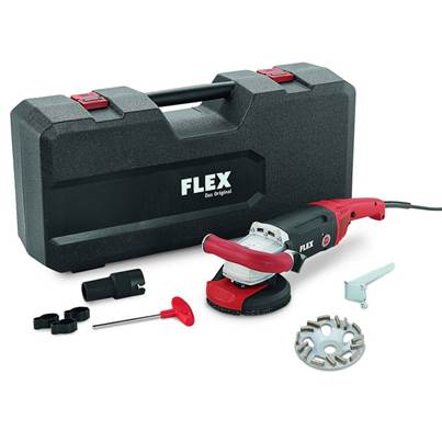 FLEX LD 187 125 R, Kit TH-Jet Concrete Grinder 230v
