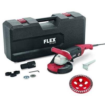 FLEX LD 18-7 150 R, Kit Turbo Jet Concrete Grinder 230v