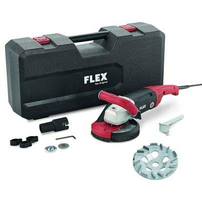 FLEX LD 18-7 150 R, Kit TH Jet Concrete Grinder 230v