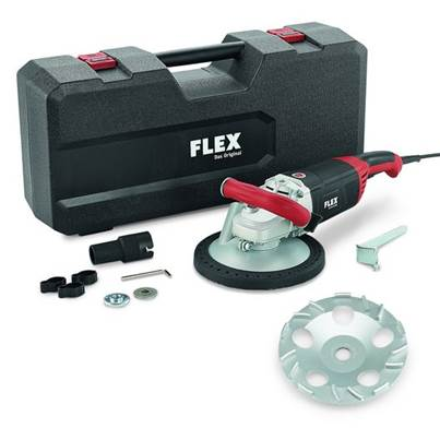 FLEX LD 24-6 180, Kit TH Jet Concrete Grinder 230v