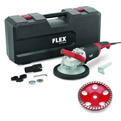 FLEX LD 24-6 180, Kit Turbo-Jet Concrete Grinder 230v