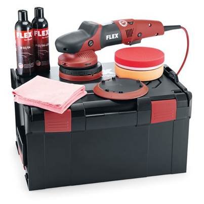 FLEX XFE 7-15 150 P-Set 230v Random orbital Polisher