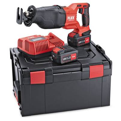 FLEX Flex RSP DW 18v Cordless reciprocating saw 2 x 5.0ah Batteries