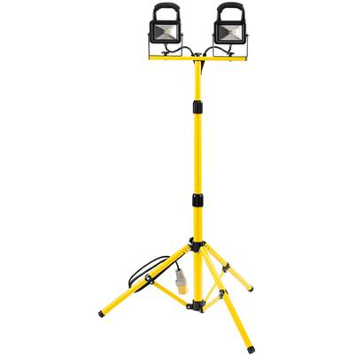 Draper 110V Twin Cob LED Worklamp with tripod (10W)