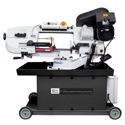 "SIP 01593 8"" Swivel Metal-Cutting Bandsaw"