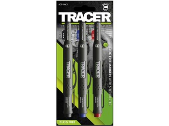 Tracer ACF-MK3 Clog Free Marker Kit - 3pc pack