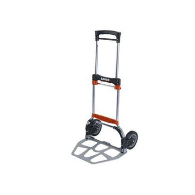 Bahco Folding Transport Trolley with Aluminium Tray 120kg Capacity