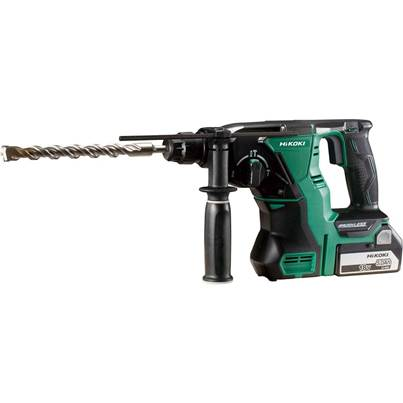 HiKOKI DH18DBL 18V Cordless SDS-Plus Hammer Drill With 2 x 5.0ah Batteries, Case and Charger
