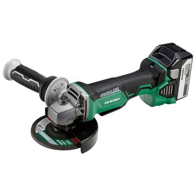 HiKOKI G18DBAL/JJ 18V Cordless Angle Grinder with Brushless Motor (2 x 5.0Ah Batteries)