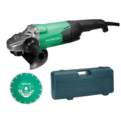 Hitachi G23ST Grinder 230mm Diamond Blade & Case 2000W 240V