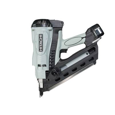 Hitachi NR90GC2 Gas Clipped Head Strip Framing Nailer 7.2V 2 x 1.4Ah Li-Ion
