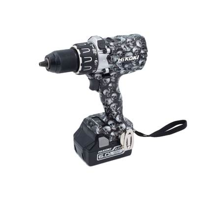 DV18DBXLJXZ Limited Edition SKULL 18V Brushless Combi Drill 2 x 6.0Ah Li-Ion