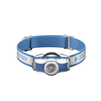 LED Lenser MH3 LED Head Torch - Blue