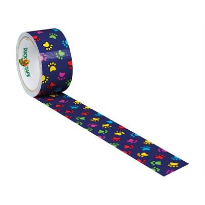 Shurtape Duck Tape 48mm x 9.1m Paint Paws
