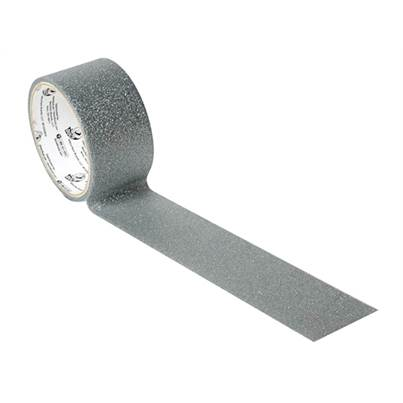 Duck Tape 47mm x 4.5m Glitter Silver