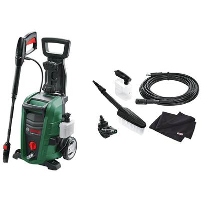 Universal Aqutak 125 Pressure Washer With Car Cleaning Accessory Kit