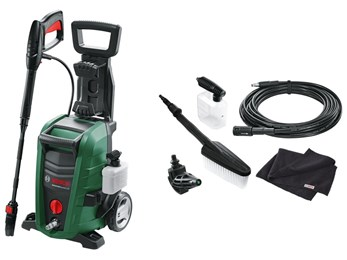 Bosch Universal Aqutak 125 Pressure Washer With Car Cleaning Accessory Kit