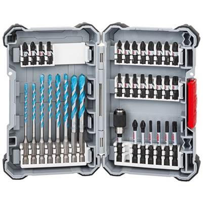 Bosch 35 Piece Impact Control MultiConstruction and Screwdriver Bit Set
