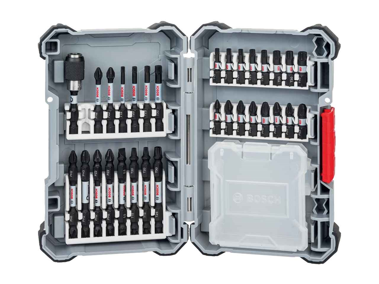 Bosch 31 Piece Impact Control Screwdriver Bit Set