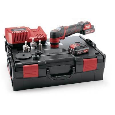 FLEX PXE 80 10.8v Smart Cordless Polisher Kit With 2 x 2.5Ah Batteries (PRE ORDER) - Stock Due Mid December