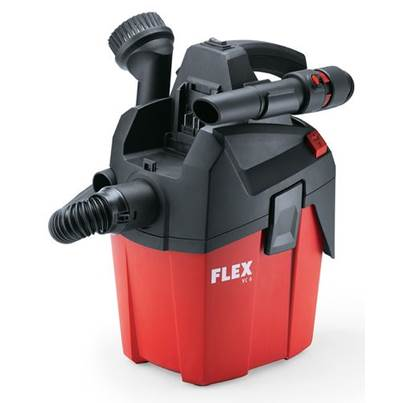 FLEX VC 6 L MC 18.0 6 Ltr Compact Vacuum Cleaner With Manual Filter Cleaning L Class