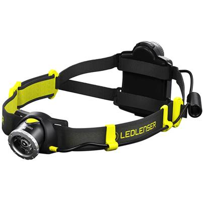 LED Lenser IH7R CRI Rechargeable High Colour Rendering Index Head Torch In Gift Box