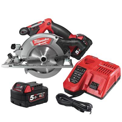 Milwaukee Power Tools M18 CCS55-0 FUEL Circular Saw 165mm 18V