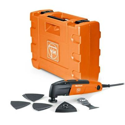 Fein FMT250QSL 230v Starlock Plus MultiTalent QuickStart Multi Tool With Accessories