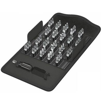 Bit Safe 61 Piece Universal PZ,PH,TX Screwdriver Bit Set