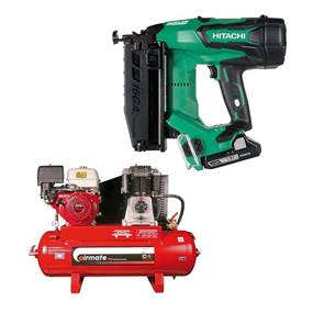 view Nailers, Staple Guns & Compressors products